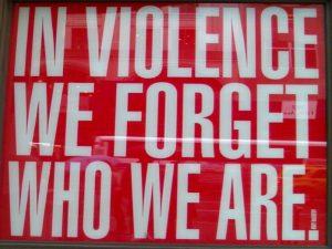 Violenza: rompiamo il silenzio