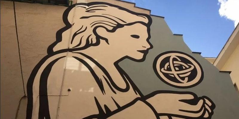 Ipazia - Napoli, Quartieri Spagnoli - street art - 2018